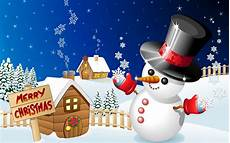 merry christmas pictures with snow merry christmas winter snow houses with snowman desktop hd wallpaper for mobile phones
