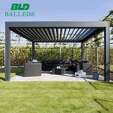Pavillon 3x3 Wasserdicht - outdoor aluminum manual waterproof pergola 3x3 m 4x3 m