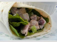 cool turkey salad  for pita or sandwich_image