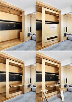 small apartment with foldaway this small apartment has plenty of design elements
