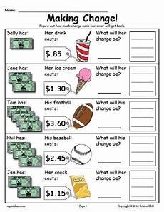 money skills worksheets free 2335 printable change money worksheets 2 versions money worksheets money math