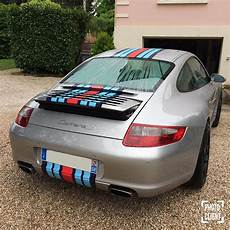 porsche 911 martini racing streifen aufkleber set