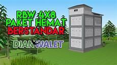 Desain Gedung Walet Rbw 4x8 Simpel Dan Sesuai Standar