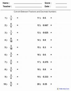 worksheet decimal to fraction 7306 converting between fractions decimals worksheets generated worksheets on all sorts