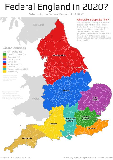 England Regions And Counties