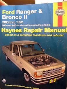 hayes auto repair manual 1992 chevrolet g series g30 free book repair manuals purchase 1983 1992 ford ranger bronco ii repair manual 2 4wd gas haynes motorcycle in