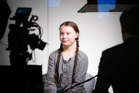 Le Monde Greta Thunberg