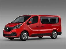 renault trafic 3 renault trafic minibus 2015 3d model max obj 3ds fbx
