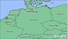 where is hamburg germany hamburg hamburg map