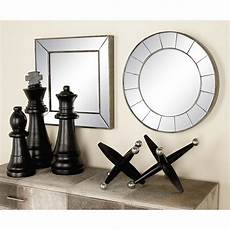 3 New Traditional Frameless Illusion Wall Mirror Set