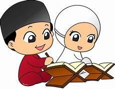 Gambar Kartun Anak Muslim Vector Kartun Gambar Karakter