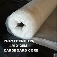 clear polythene sheeting poly plastic 4m 25m cardboard core 24 hour delivery ebay