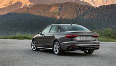 audi a4 saloon 2019 review don t rock the boat car magazine