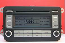 vw volkswagen rcd 300 mp3 cd radio player code golf