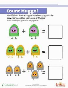 math addition counting worksheet counting and adding worksheet education