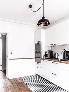 cuisine blanche laquée la cuisine blanche et bois en 102 photos inspirantes archzine fr