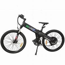 E Go Electric Bike Matt Black Electric Bicycle Mountain