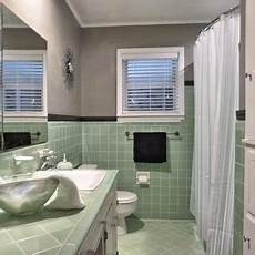 green bathroom tile ideas vintage green tile bathroom when we finally decided to keep it this is how it turned out
