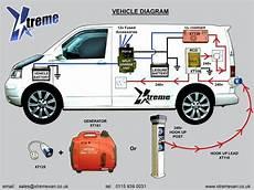 t5 split charge wiring electrical hook up search vans vw transporter cer