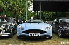 baby blue aston martin db11 spotted at villa d este