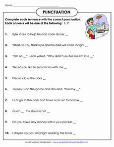 punctuation worksheets for grade 3 21000 punctuation worksheets