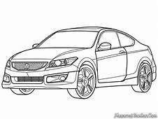 Honda Accord Sport CARS Coloring Pages  Kids