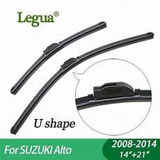 legua wiper blades for suzuki alto 2008 2014 14 quot 21