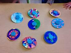 at school crafts cd spinner