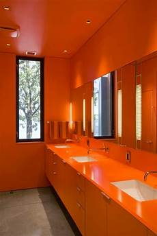 Bathroom Ideas Orange by 31 Cool Orange Bathroom Design Ideas Digsdigs