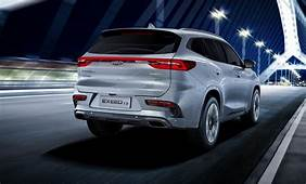 Exeed TX Chinas Chery Launches New Brand And SUV For