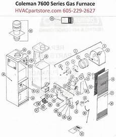 7624 656 Coleman Gas Furnace Parts Hvacpartstore