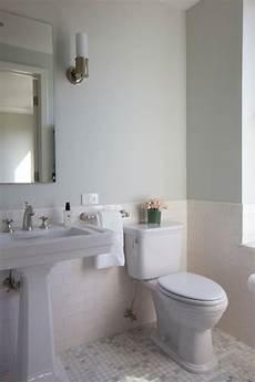 badezimmer halb gefliest half tiled bathroom walls design ideas