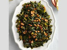 collard greens with black beans_image