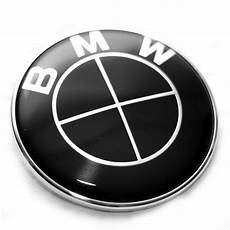 bmw black steering wheel emblem