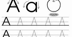 alphabet tracing worksheets letter a 23845 letter tracing worksheets letters a j