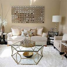 Home Decor Ideas Gold by Chic Living Room Decorating Ideas And Design 7 Chic