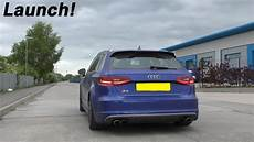 audi s3 8v sportback ride and launch