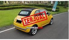 2014 fiat 500c cabriolet kuning km15000 langka
