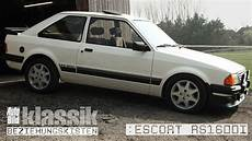 ford rs 1600i kurzfilm auto bild klassik