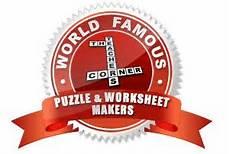 printable worksheets worksheets and puzzle maker pinterest