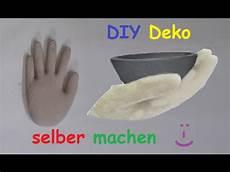 Betonle Selber Machen - diy deko aus beton oder gips mit latexhandschuh