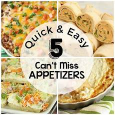 and easy appetizers diary of a recipe collector