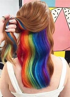 cool hair dye ideas for brown hair 97 cool rainbow hair color ideas to rock your summer