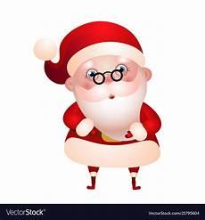 cute santa claus merry christmas royalty free vector image