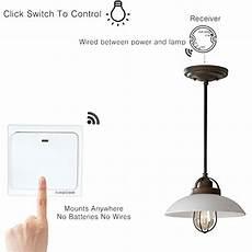 acegoo wireless lights switch kit no battery no wiring