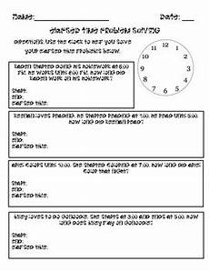 elapsed time worksheets 5th grade word problems 3290 elapsed time word problems by smiles in second grade tpt