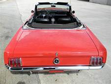 1965 1964 1/2 Ford Mustang Convertible 289 V8 D Code