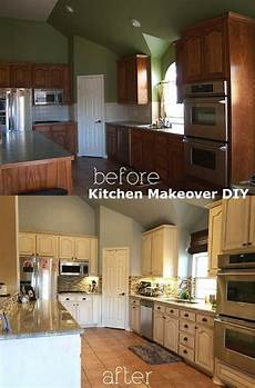 Kitchen Ideas Cheap Makeover by Easy And Cheap Kitchen Makeover Diy Ideas On A Budget