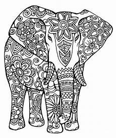 Ausmalbilder Elefant Erwachsene 25 Best Elephants Images On Coloring Books