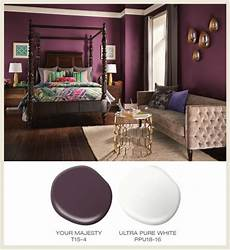 color of the month berry featured behrpaint room colors your majesty t15 4 ultra pure